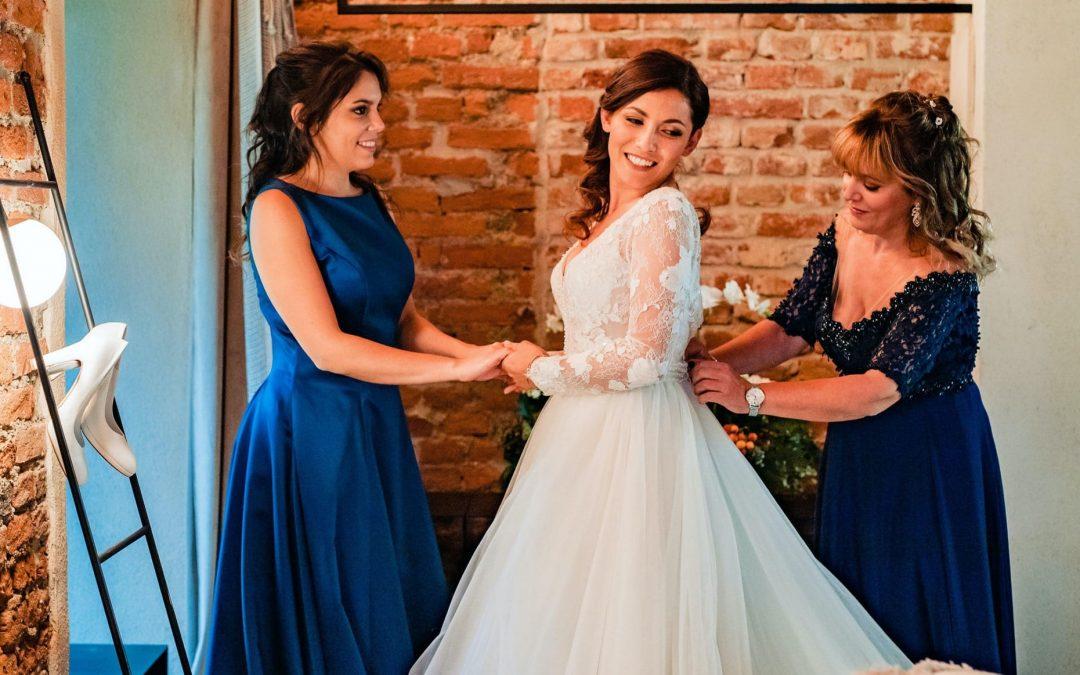 Valentina, sposa autunnale